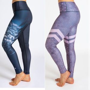 Inner Fire Bundle of 2 full length leggings SMALL